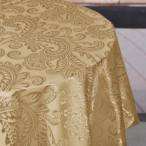 200GSM various specifications jacquard surface, waterproof, anti – fouling, tablecloth series-HS70011