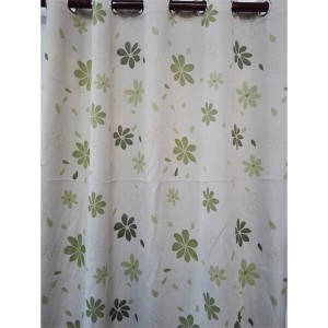 High-grade 4-color fresh curtain, 70% shading printed curtain/Curtain Series-Blackout-HS10477