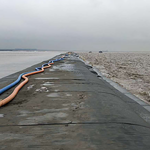 Geotextile Tubes for Costal Protection