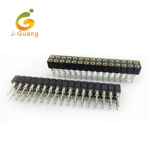 2018 Good Quality Header Male - JG102-A Sip Machine Pin Pitch 2.54mm Round Pin Headers – J-Guang