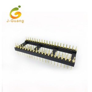 OEM/ODM Factory Female Headers - JG103-A Machine Pin Header IC Pitch 2.54mm Chip Socket – J-Guang