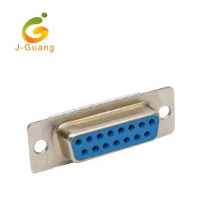 JG133 High Quality 15P Female PCB mounting D Sub Connectors