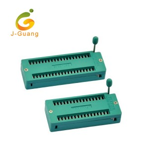 OEM China Guardrail Reflectors - JG144 2.0mm 2.54mm 40pin Zif Socket from China – J-Guang