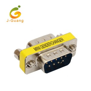JG182-B High Quality Db9 M/f Mini Gender Changers