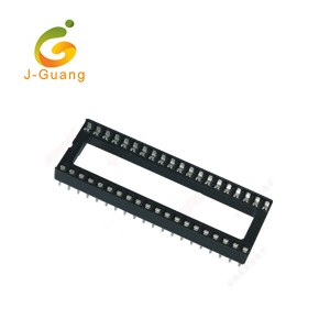 JG109 Chinese Supplier 2.54mm Dip Sip Clip pin Ic Holders