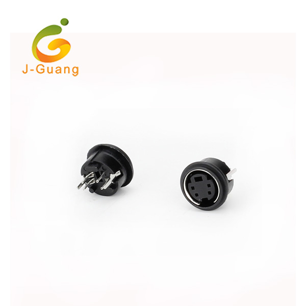 China Cheap price Jst Xh Connectors - JG193-I Best Popular Black Nickel Plated Mini Din – J-Guang