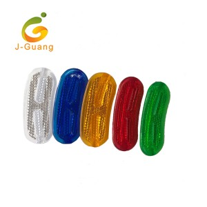 JG-B-06 Promotional Practical Plastic Reflex Bike Spoke Reflectors