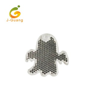 JG-K-07 EN13356 Certificated Promotional Ghost Shape Reflective Hanger
