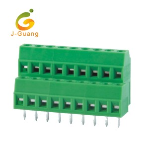 Hot-selling Safety Reflectors - 128A-3.5 3.81 Wholesales Best Sales 3.5mm 3.81mm Pitch Green Terminal Block – J-Guang