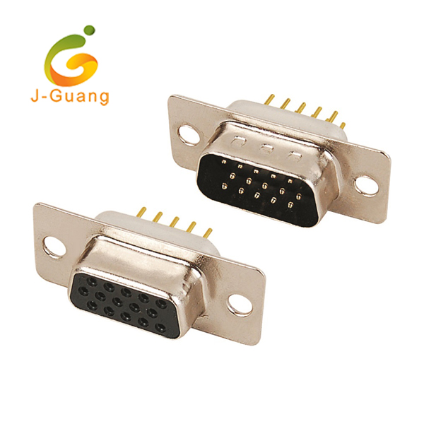 JG177 Three Row VGA Male Dip Type Hd15 Connectors Featured Image