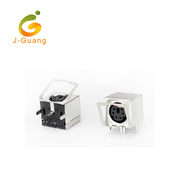 Manufactur standard Zif Socket 14 Pin - JG193-B 824 Type 4/5/6/7/8 Poles Mini Din Connectors – J-Guang