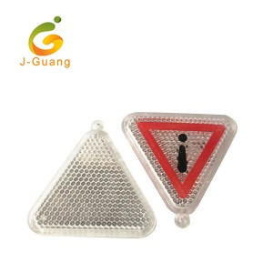 JG-K-09 custom shaped acrylic safety reflector Reflective Keyrings
