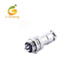 Renewable Design for Spring Terminal Connector - Discountable price Hot Sale Zhg.1b 2 3 4 5 6 7 8 10 12 14 16 Pins Fixed Nut Fixing Protruding Shell Connector Socket – J-Guang