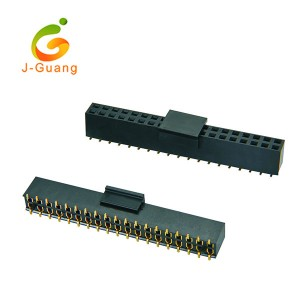 JG123-Q 2.54mm Smt Type Female Header with Polarization H=7.1mm