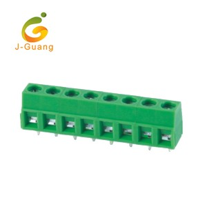 High Quality Connector - 127-5.0 5.08 Green Color 2 Pin Terminal Block Connector – J-Guang