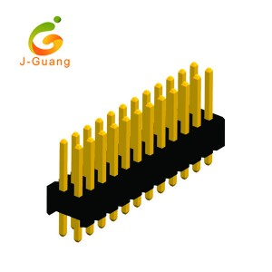 100% Original Factory Ribbon Cable Connectors - JG131-F 1.27mm Double Row Striaght Type Pin Connector – J-Guang
