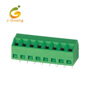 Chinese Professional Wago Terminal Blocks - 127S-3.5 3.81 Replace Degson 45 Degree Wire Terminal Block – J-Guang
