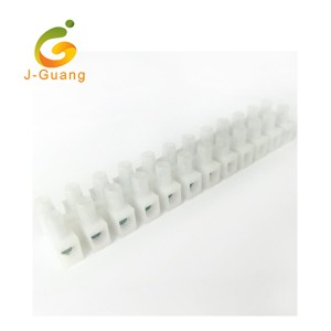 High Quality Connector - PA12 Screw Connection Zinc Alloy Copper Feed Through Terminal Blocks – J-Guang