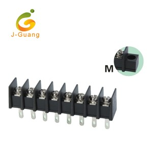 Manufactur standard Vehicle Reflectors - 25H-7.62 Best Quality Barrier Screw Terminal Blocks – J-Guang