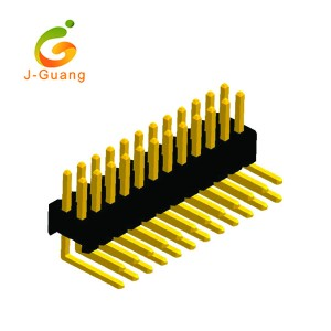 Bottom price Amber Reflectors - Pin Header, JG131-G, 1.27mm right angle pin header double row – J-Guang
