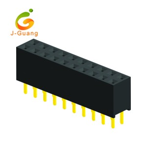 Cheap PriceList for Eed Through Terminal Blocks - JG123-I 2 Rows V/T Type H=7.1mm Female Header – J-Guang