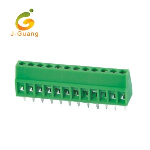 128-2.54 PA66 small wire terminals high quality Screw Terminal Blocks