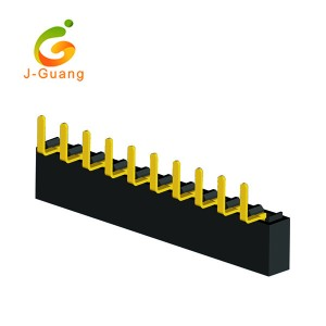 JG124-D 2.54mm Single Side V/T Type H=8.5/5.0mm Female Header