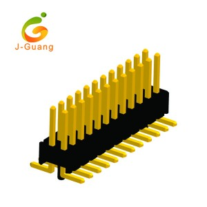 Cheap PriceList for Eed Through Terminal Blocks - Pin Header, JG131-I, 1.27mm double row smt type pcb header connectors – J-Guang
