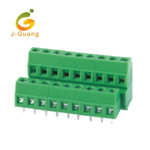 Hot Sale for Motorcycle Reflectors - 128B-3.5 3.81 Wholesales Green Color Double Row Screw Terminal Blocks – J-Guang