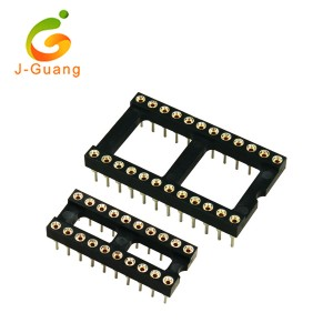 JG101-A Round Chinese Clip Swiss Clip Ic Socket 8 Pins