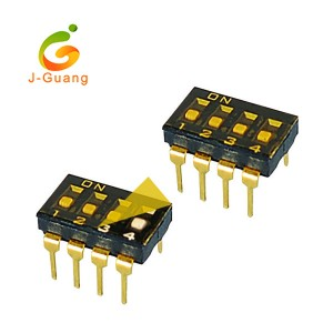JG140-B Pitch 2.54mm Smt & V/T with Mylar Type Dip Switches