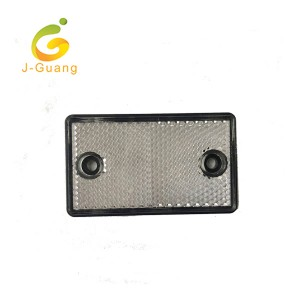 JG-J-02 Red white Yellow Rectangle Shape Plastic vehicle reflectors