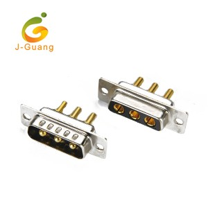 professional factory for Sma Connector - JG134-S Machine Pin Dip Type 3P 3w3 D Sub Connectors – J-Guang
