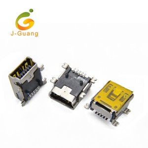 JG204 B Type 5 Pin Female Smt Mini Usb Connector