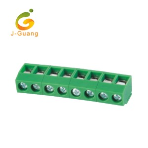 Chinese Professional Circular Din Connectors - 126R-5.0 Best Price 90 Degree Terminal Block 2 Pin – J-Guang