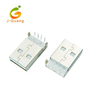 JG197 A Type Right Angle USB & Mini USB Connectors