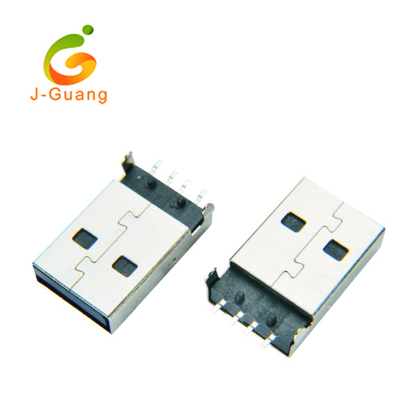 2017 New Style Car Reflectors - USB & Mini USB JG198, male A type smt usb connectors – J-Guang Featured Image
