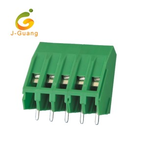 Top Suppliers Usb Connectors - 104-5.08 3 Pins 5.08mm Pitch PCB Mount Screw Terminal Block  – J-Guang