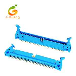 New Arrival China Green Terminal Block - Shrouded Header, JG111-B, 2.54mm ram latch shrouded headers – J-Guang