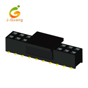 Good Quality Idc Male Connectors - JG123-O 2.54mm 2 rows Smt Type H=8.5/5.0mm Female Header  – J-Guang