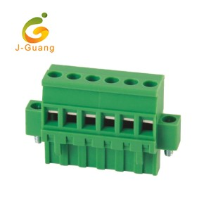 Manufacturer for Terminal Connectors - pluggable terminal block,  2EDGKAM-5.0 5.08, wago pluggable terminal block	 – J-Guang