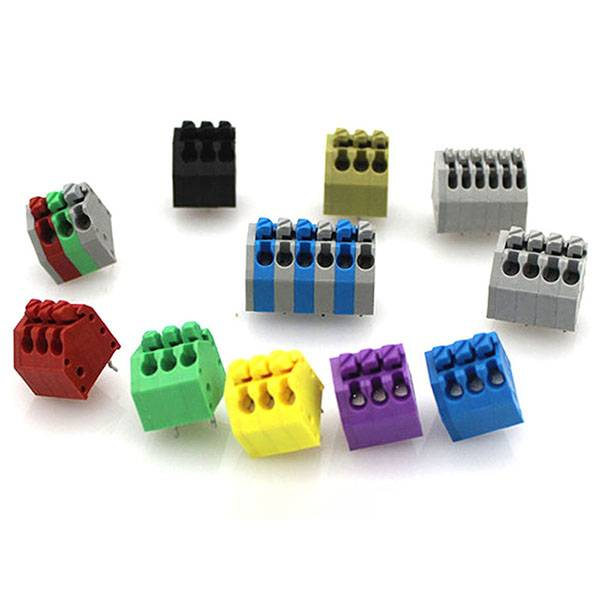 Best Sell 2.5mm 3.5mm Pitch Spring Terminal Block JG250-2.5 3.5 Featured Image