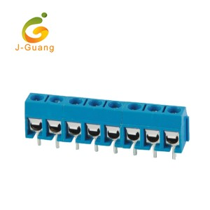 China New Product Db9 Connector - 301-5.0 5.0mm Pitch 10mm Height 2 Pin Terminal Block Connector – J-Guang