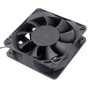DC 12V 24V 36V 48V Brushless Axial Cooling Fan 120mm 12038 120x120x38mm