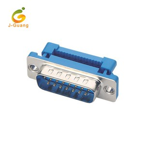 JG136 15Pin Idc D-sub Connector with flat cable