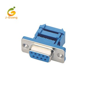 JG136 Ribbon Flat Cable IDC Type  9Pin Male D-sub Connector