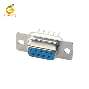 JG134 Female and male gold plated DIP Straight Type DP Connector D-Sub