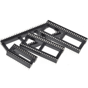 2.54mm 1.778mm 40 Pin Square IC Socket Header connector