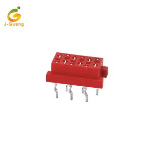JG115-D High quality 6 pin Micro Match Dip Plug Connector