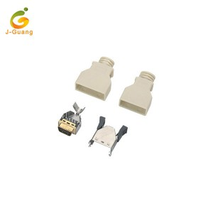 JG200-B External SCSI 20pin Male Driver Connector with Spring Lock